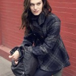 Sebby Collection Wool Plaid Jacket