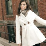 Sebby Wool Trench Coat